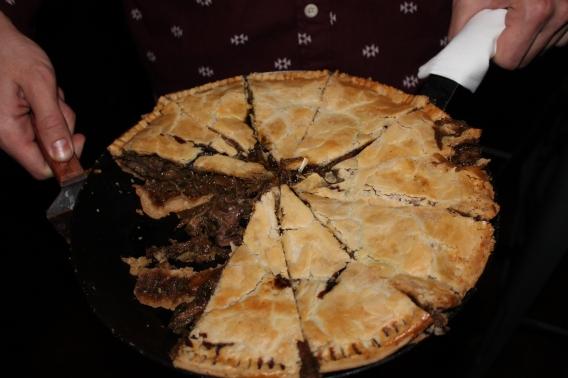 wild boar pie