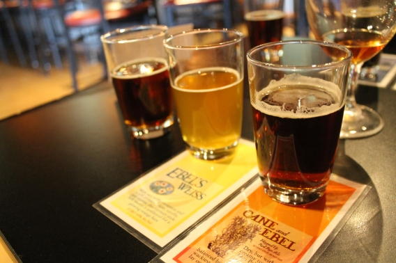flights of beer (your choice!)