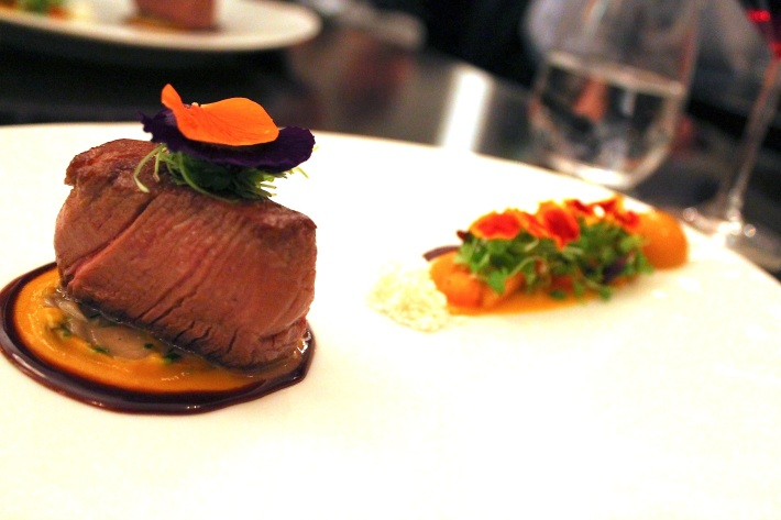 angus beef/heirloom carrots/goosefoot/cumin/shallot jus
