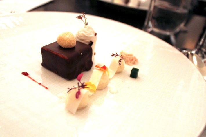 chocolate/passion fruit/coconut/ice wine