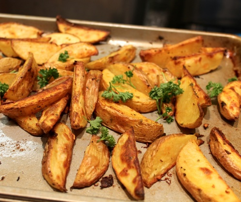 roasted potato wedges | chieats.com