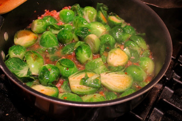 brussel sprouts with pancetta